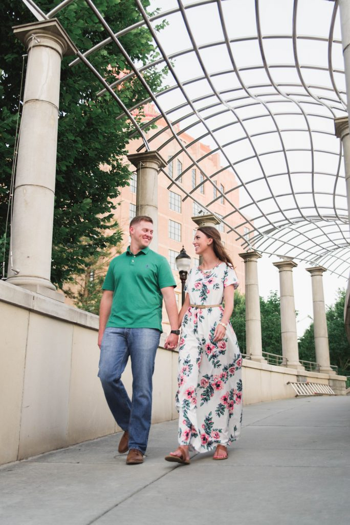 Downtown Asheville Engagement Session