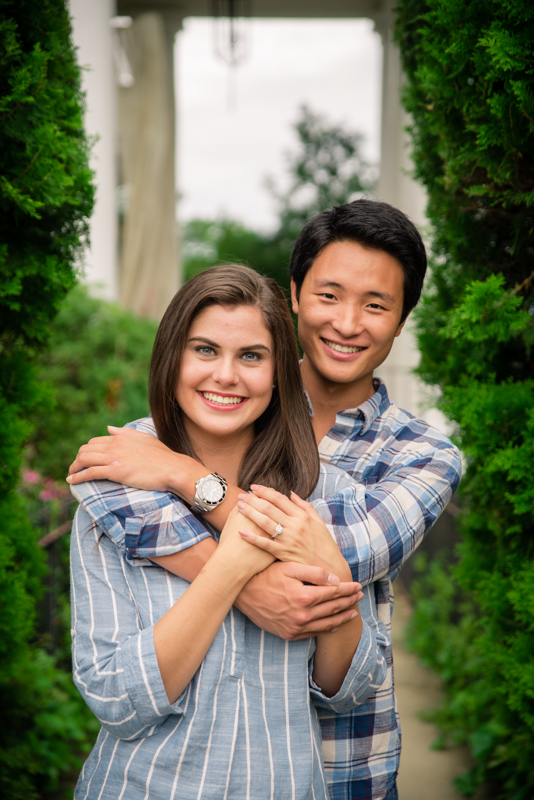 Gassaway Mansion Engagement Session