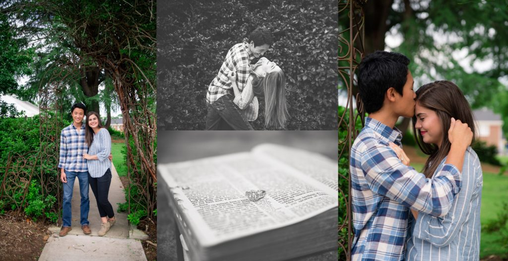 free Asheville engagement session